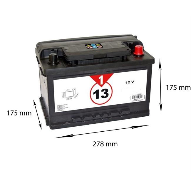 Batterie 1er Prix Confiance Bvp13 60 Ah - 560 A