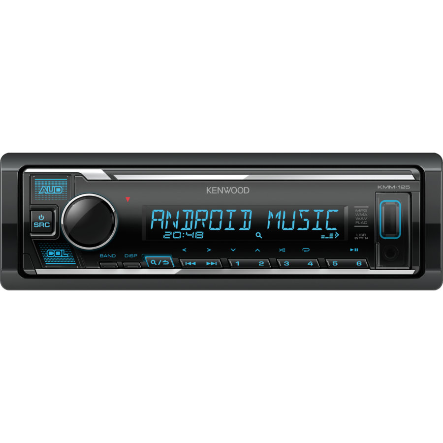 Autoradio KENWOOD KMM-125