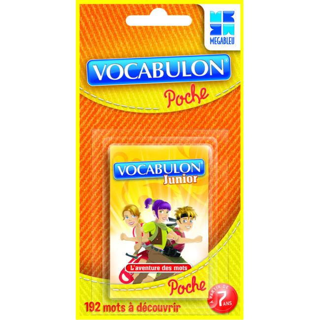 Jeu De Voyage : Pocket Vocabulon Junior (version Française)