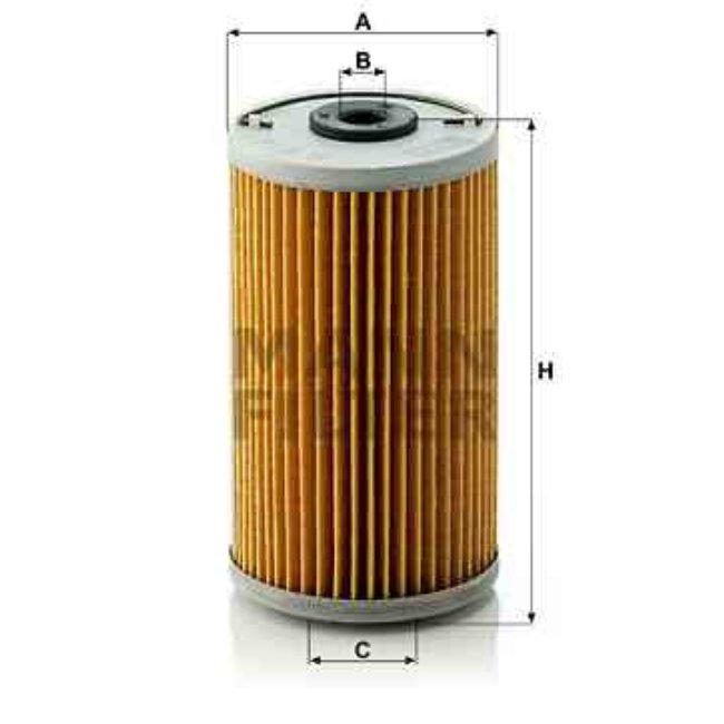 Filtre À Huile Mann-filter H614x