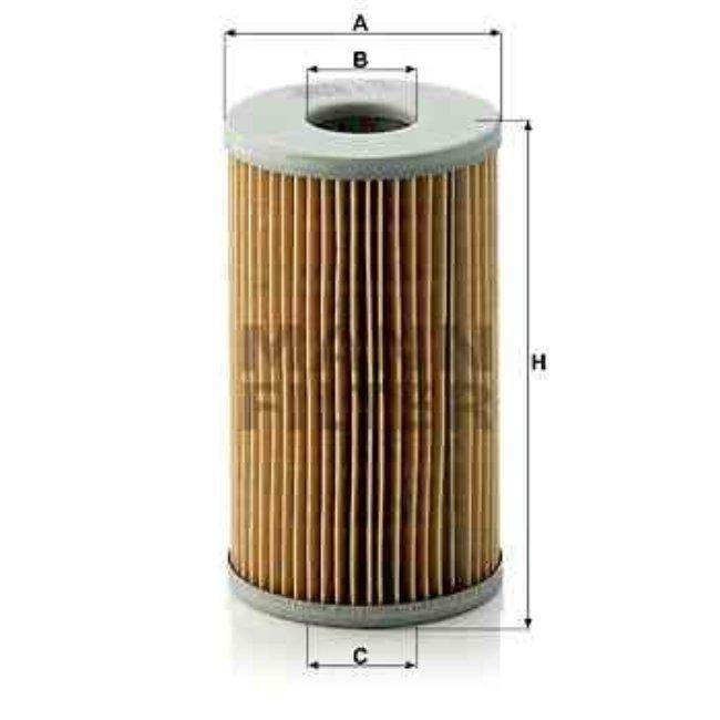 Filtre À Huile Mann-filter H720x